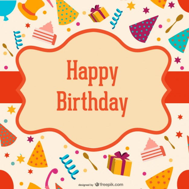 happy birthday label template ; birthday-label-over-hats-and-boxes_23-2147491048