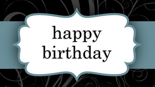 happy birthday label template ; lt00001090
