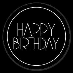 happy birthday label template ; template-sticker-300x300