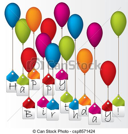 happy birthday labels ; happy-birthday-labels-hanging-on-color-eps-vector_csp8571424
