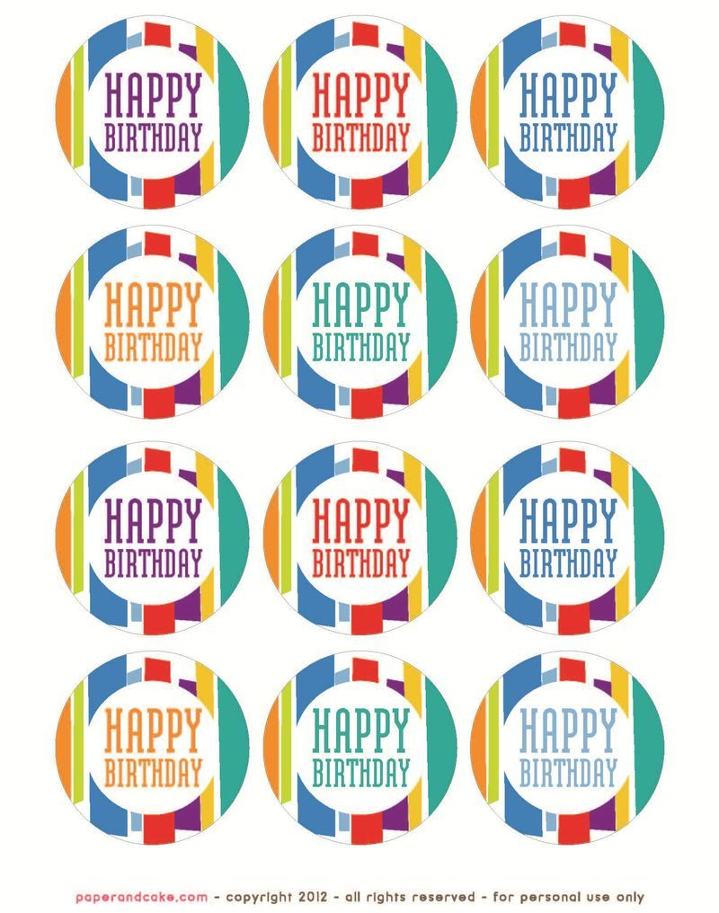 happy birthday labels free ; 0c2963a690164e271052a9f30a778f75