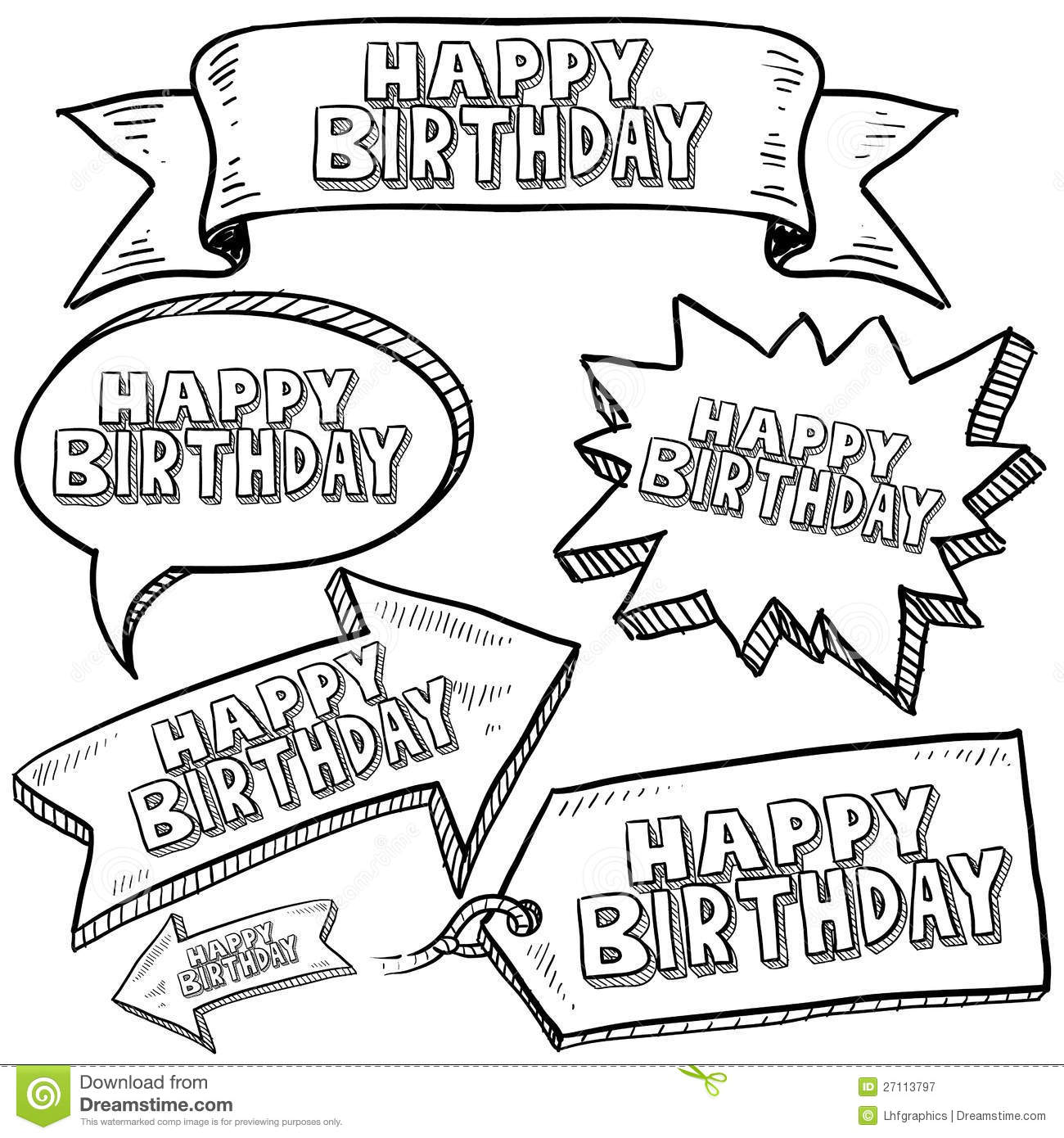happy birthday labels free ; happy-birthday-labels-banners-27113797