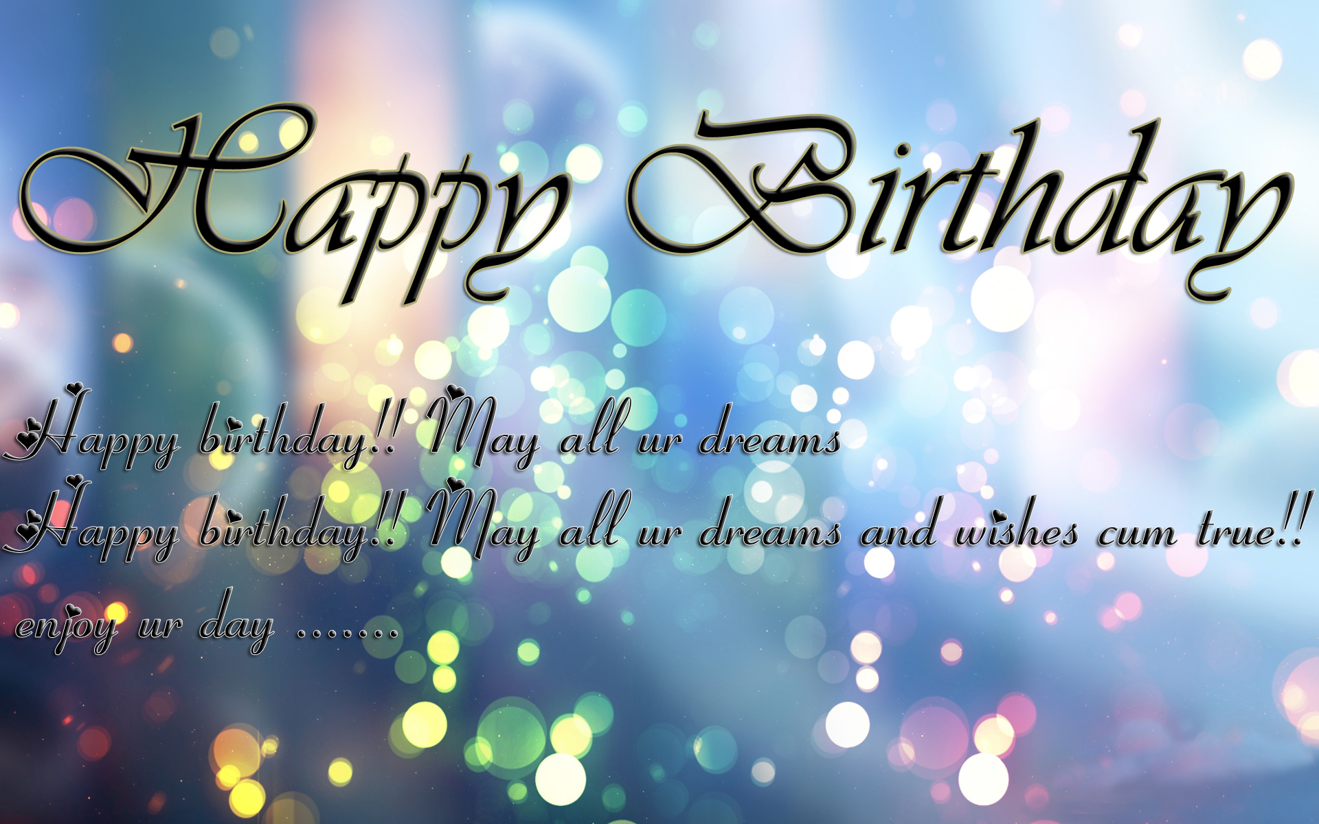 happy birthday message wallpaper ; Happy-birthday-wishes-for-lover-7