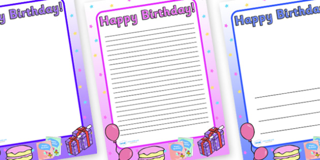 happy birthday page border ; T-T-2057-Happy-Birthday-A4-Page-Borders-Images