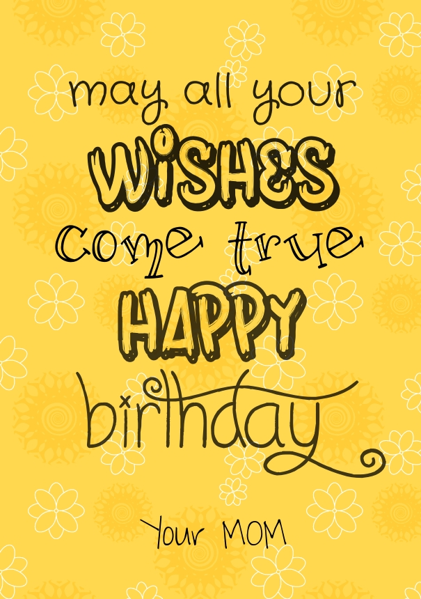 happy birthday photo quotes ; happy-birthday-daughter-quotes-from-a-mother
