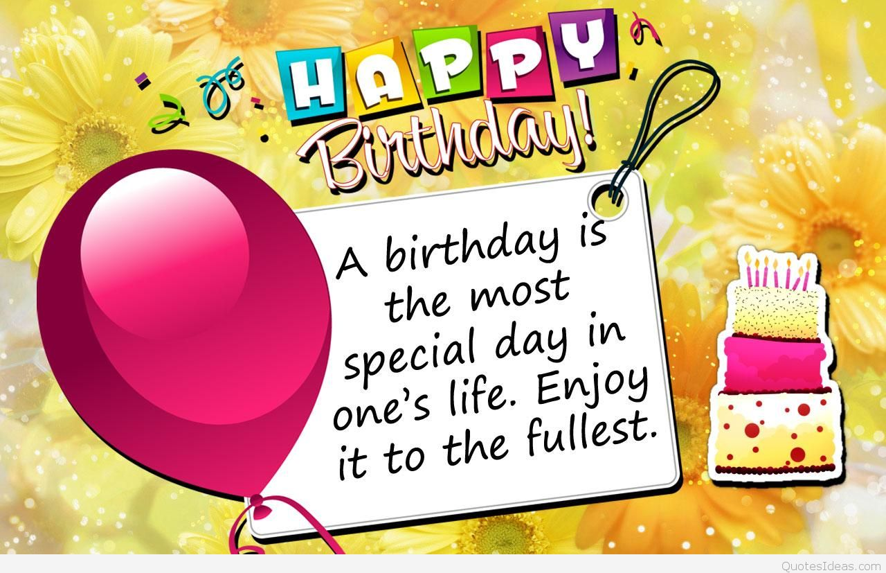happy birthday photo sticker ; A-birthday-is-the-most-special-day-card-message