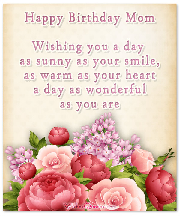 happy birthday pictures and wishes ; sweet-happy-birthday-mom-card