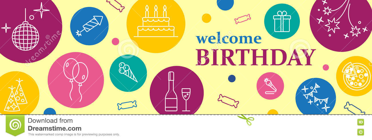 happy birthday poster free template ; banner-template-design-musical-party-celebration-happy-birthday-card-confetti-cute-fonts-masks-kids-birthday-poster-to-78591193