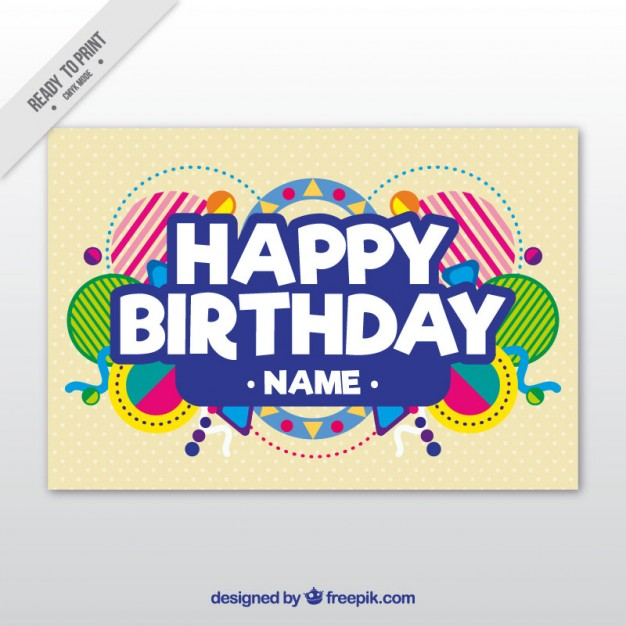 happy birthday poster free template ; birthday-card-template_23-2147541103