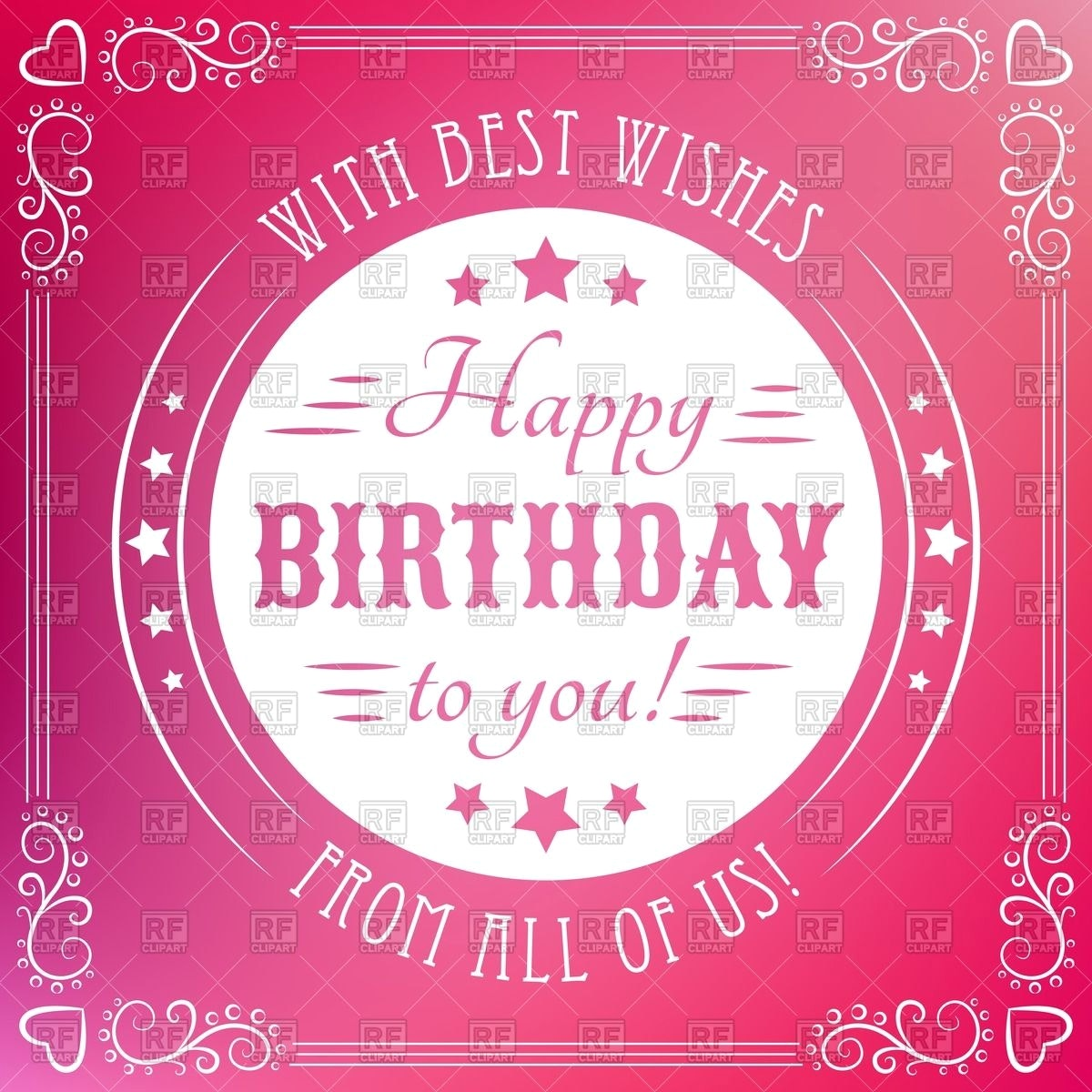happy birthday poster ideas with pictures ; best-free-happy-birthday-posters-and-stunning-ideas-of-birthday-poster-with-round-retro-frame-vignettes-vector-10