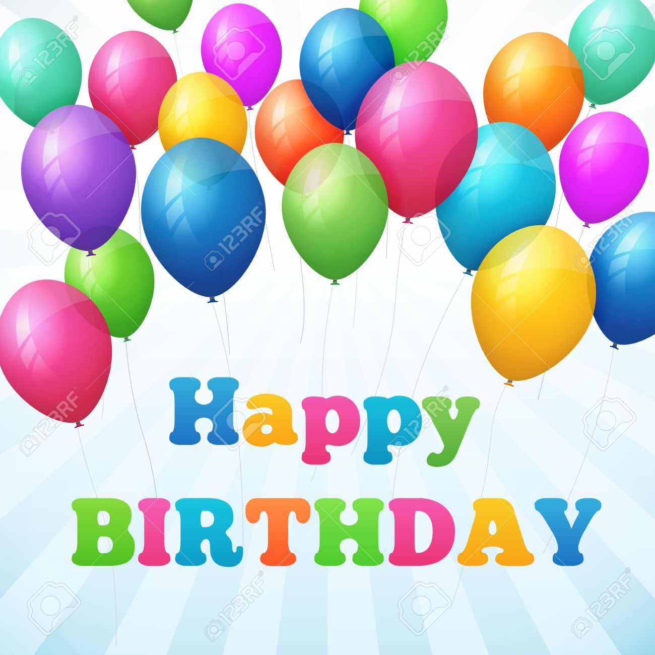 happy birthday poster images ; 30493785-happy-birthday-poster-with-colorful-balloons-isolated-from-background