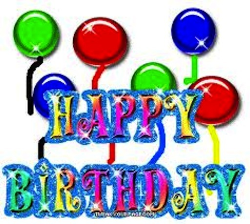 happy birthday poster images ; images