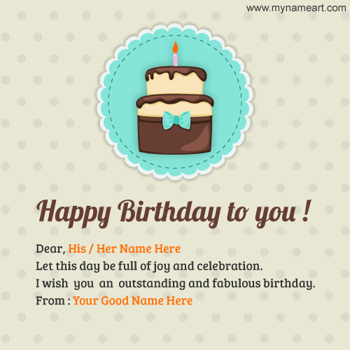 happy birthday poster with name and photo ; write-name-on-happy-birthday-images