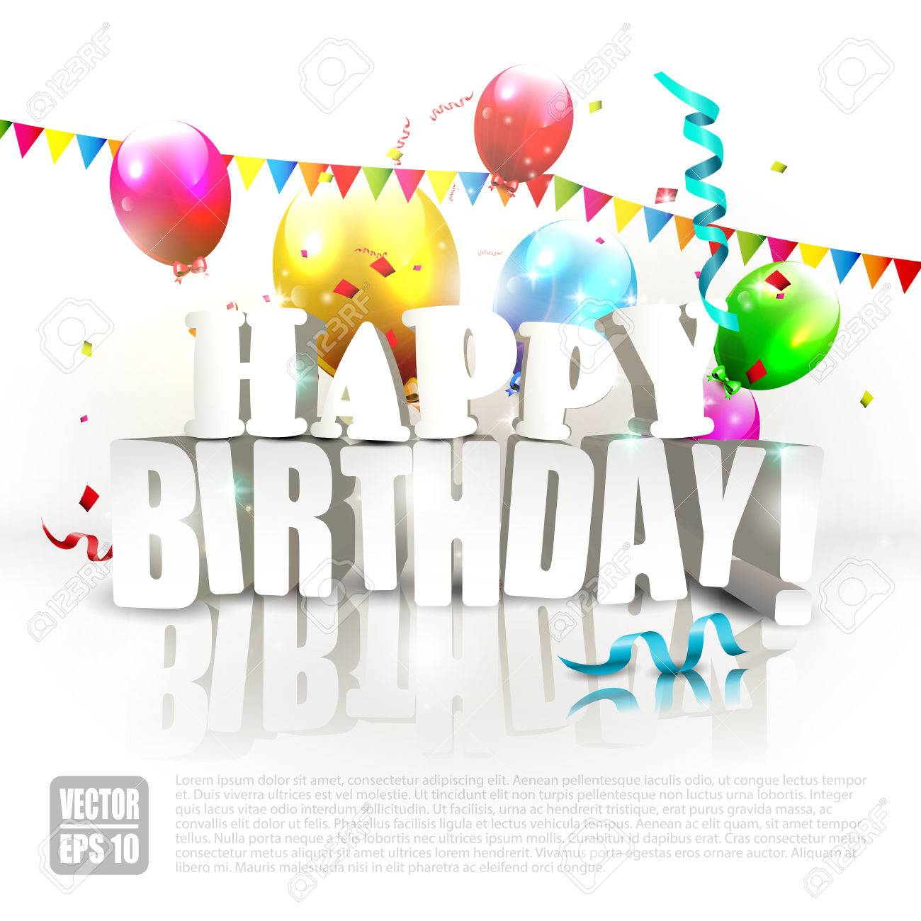 happy birthday poster with photo ; 29817013-modern-birthday-poster-with-colorful-balloons-and-happy-birthday-inscription