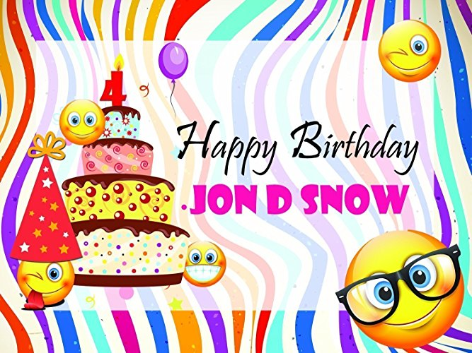 happy birthday poster with photo ; 81He6JEB89L