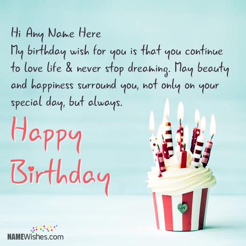 happy birthday quotes with photo and name ; 2defed03e99b88b42a98375537e73858