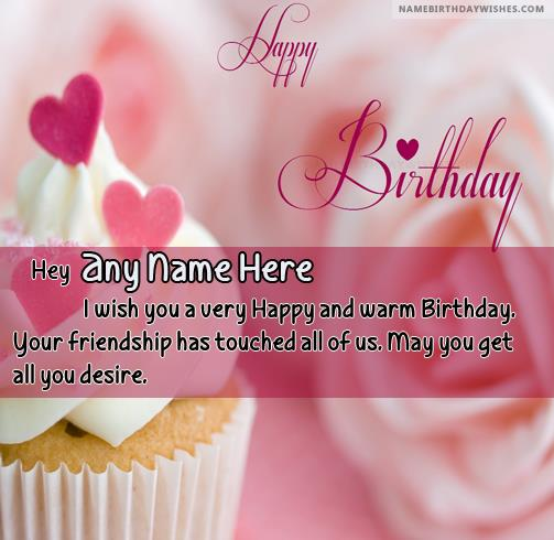 happy birthday quotes with photo and name ; amazing-birthday-cupcakes-wishes-with-name3ff3