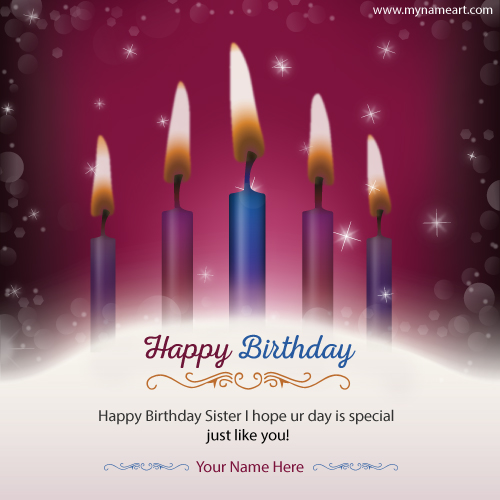 happy birthday quotes with photo and name ; happy-birthday-wishes-sister-quotes