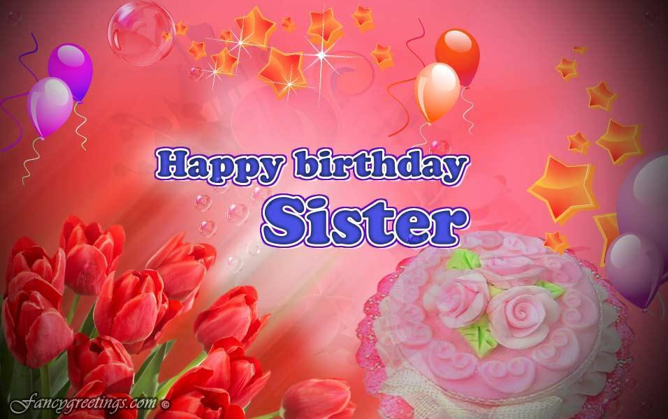 happy birthday sister greeting message ; 7eac2378c12eccd35194bb6e2700729d