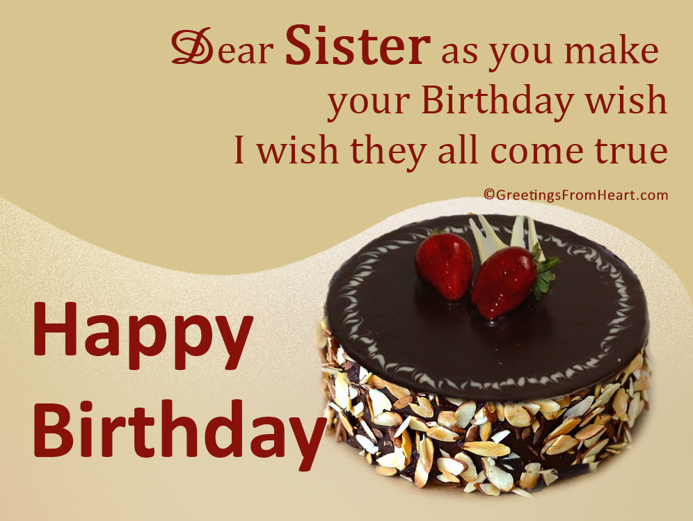 happy birthday sister greeting message ; birthday-greetings-for-sister-2