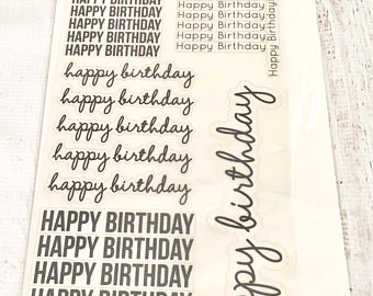 happy birthday stickers for card making ; il_340x270