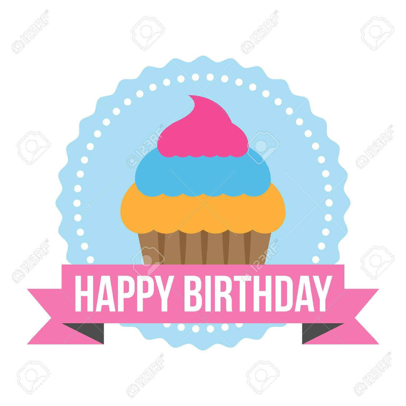 happy birthday tag images ; 30694807-happy-birthday-round-zig-zag-tag