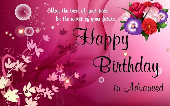 happy birthday wallpaper images ; advance-Happy-Birthday-Wishes-For-Best-Friend