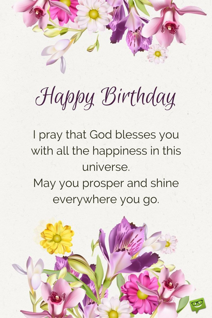 happy birthday wishes and images ; Birthday-prayer-for-a-beloved-person-on-picture-with-floral-elements