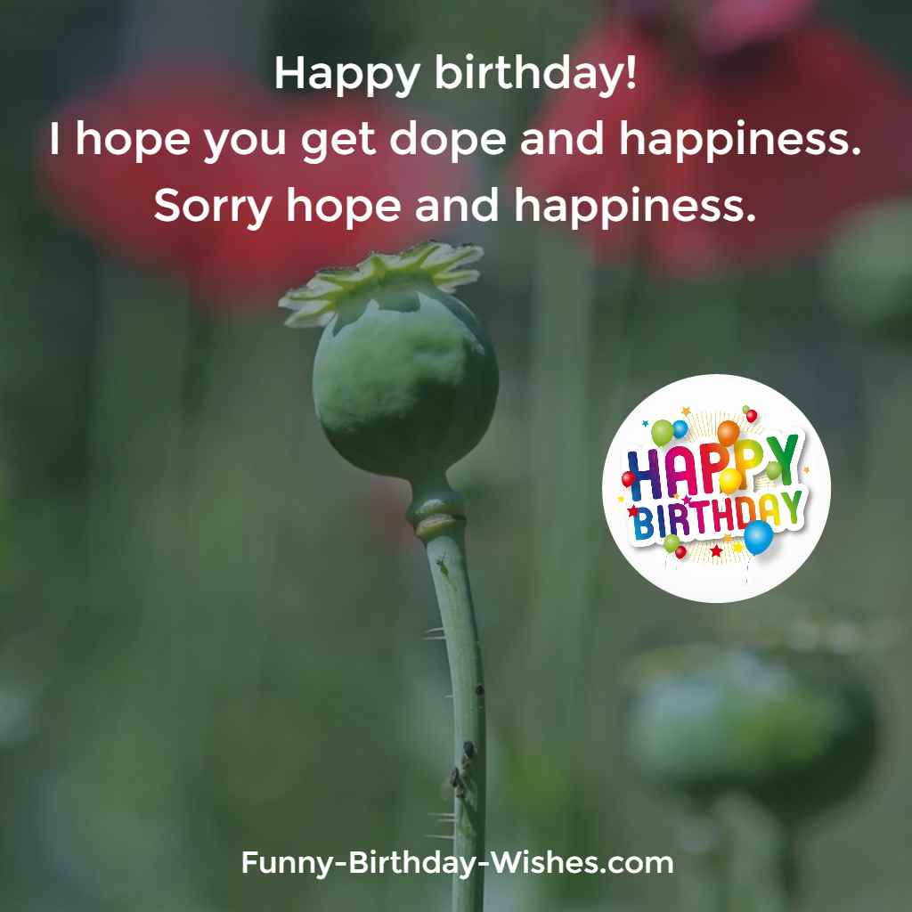 happy birthday wishes and images ; Happy-birthday-I-hope-you-get-dope-and-happiness