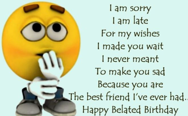 happy birthday wishes best friend message ; belated-happy-birthday-wishes-to-best-friend-messages-images-greetings