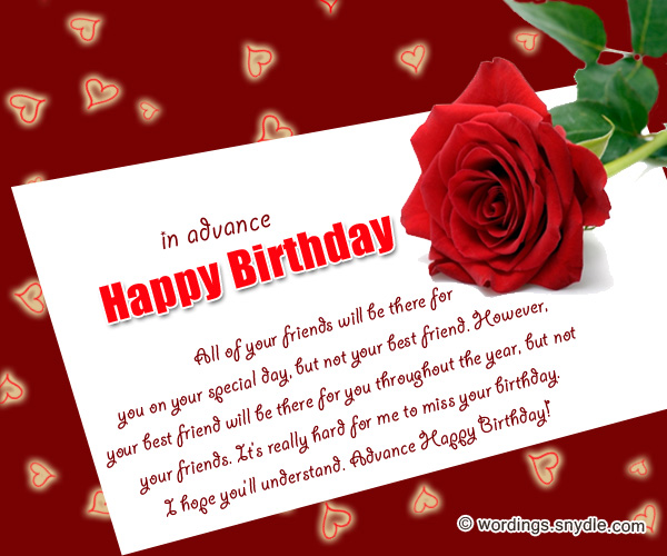 happy birthday wishes card images ; advance-birthday-wishes-cards