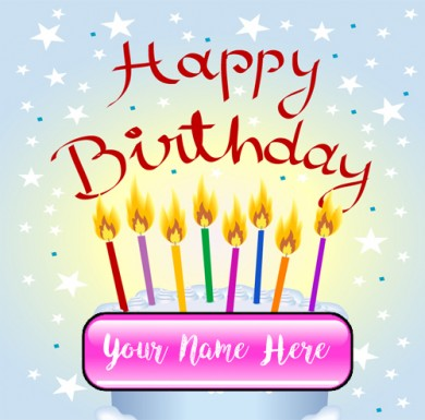 happy birthday wishes card with name edit ; 1506169914_92808778
