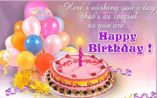 happy birthday wishes card with photo ; birthday-greetings-card-rectangle-landscape-pink-purple-balloon-and-cake-picture-beautiful-wording-bestofpicture-images-birthday-greetings-card-images