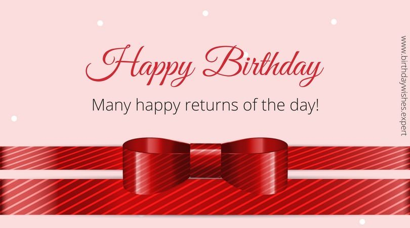 happy birthday wishes for a card ; Formal-birthday-card-with-red-ribbon