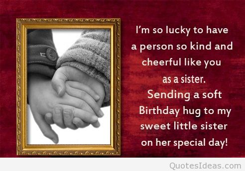 happy birthday wishes for little sister message ; Birthday-Quotes-for-Little-Sister-6