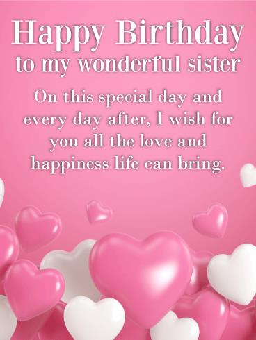 happy birthday wishes for little sister message ; b_day_fsi86
