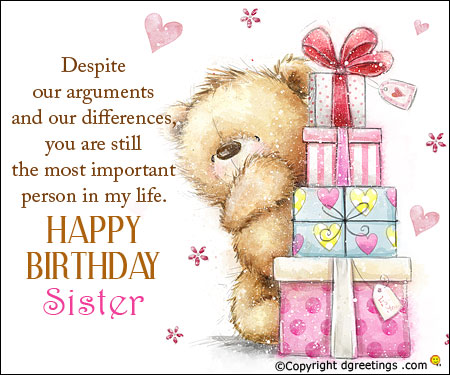 happy birthday wishes for little sister message ; birthday-sister-card191010