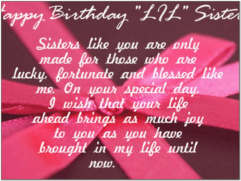 happy birthday wishes for little sister message ; dbc9cc5548156e4d7067b266591eeda2