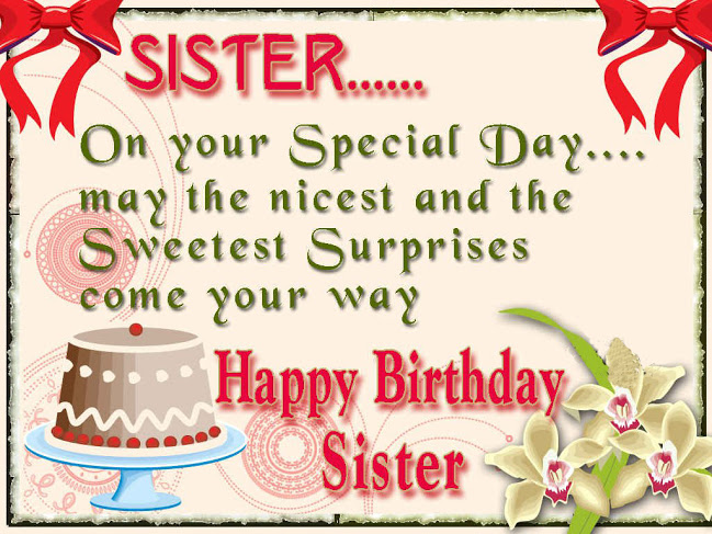 happy birthday wishes for little sister message ; happy-birthday-wishes-for-sister