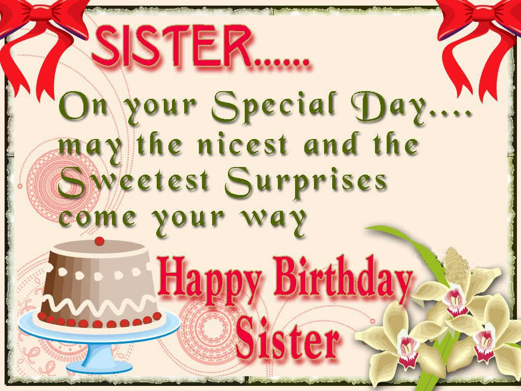 happy birthday wishes greeting cards for sister ; Happy-Birthday-Wishes-for-Sister-printable-2