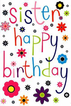 happy birthday wishes greeting cards for sister ; Sister-Happy-Birthday-Wishes-Greeting-Card