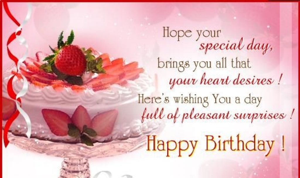 Happy Birthday Wishes Greeting Cards Free Download Card