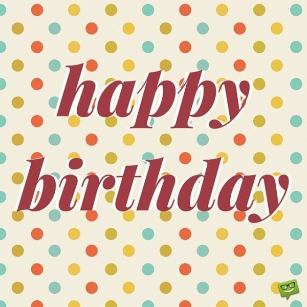 happy birthday wishes images free download ; Happy-Birthday-on-image-with-colored-dots-600x600