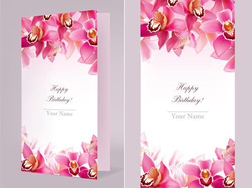 happy birthday wishes images free download ; orchids-happy-birthday-card-vector-vector-birthday-free-download-ideal-birthday-card-download