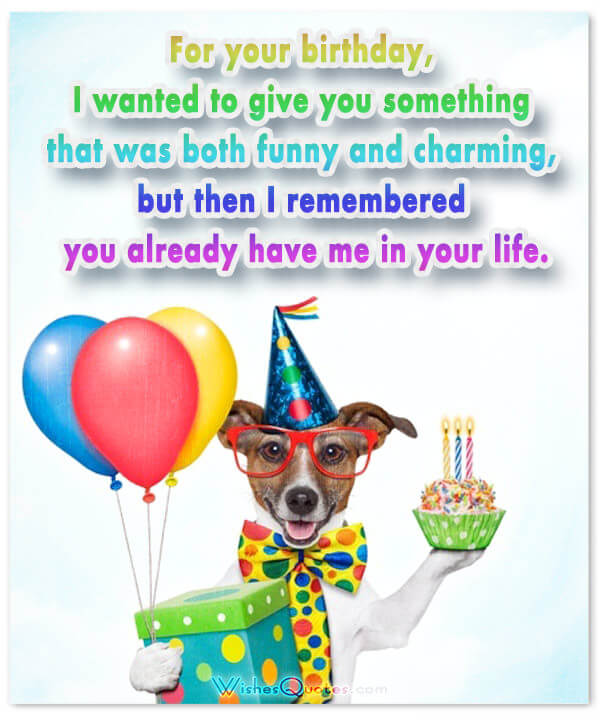 happy birthday wishes in a card ; funny-happy-birthday-message
