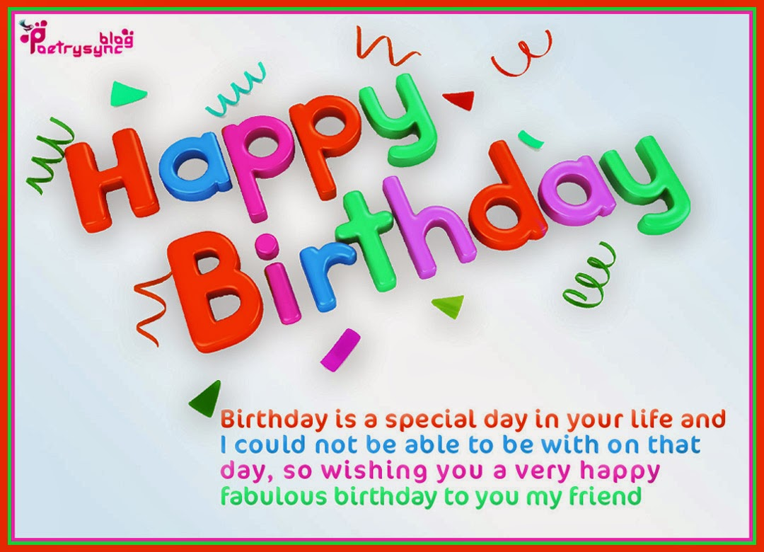 happy birthday wishes message to friend in hindi ; Happy-Birthday-Wishes-and-Greeting-Picture-Cards-20