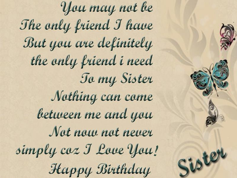 happy birthday wishes message to sister ; Birthday-greetings-for-sister1234
