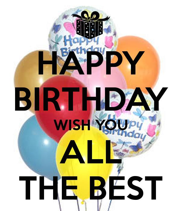 happy birthday wishes poster ; happy-birthday-wish-you-all-the-best