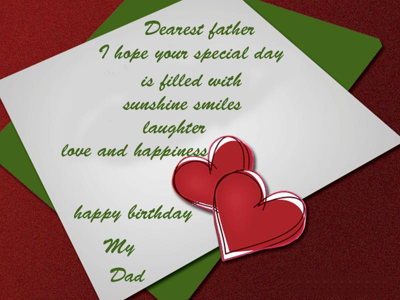 happy birthday wishes short message ; Birthday-Greetings-For-Father2865