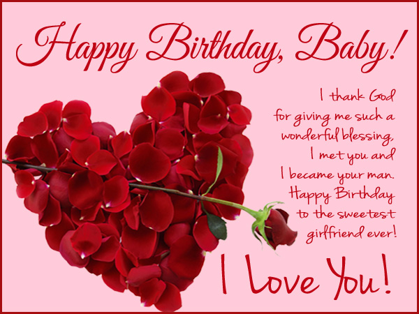 happy birthday wishes thank you message ; Birthday-cards-for-girlfriend